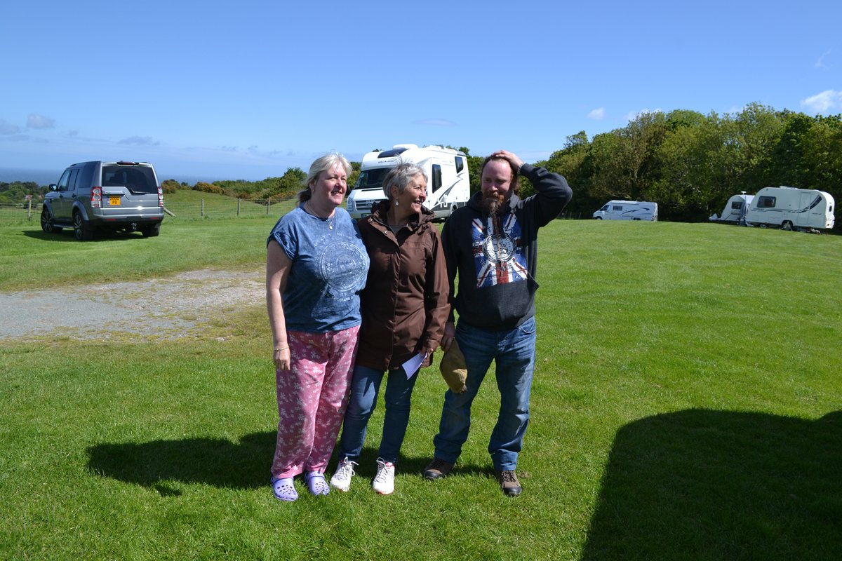 Lesley, Anne and MacBeth