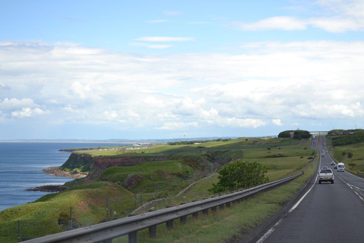 Steilküste kurz vor Berwick-upon-Tweed