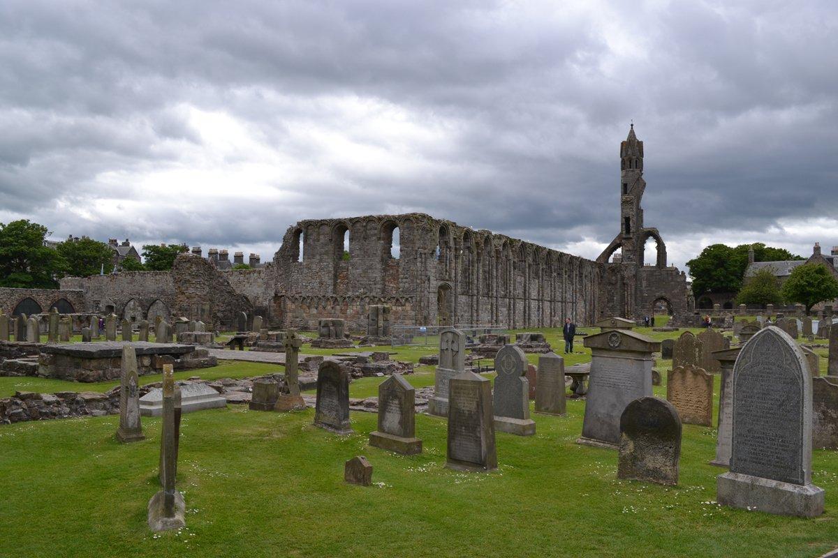 Ruine der St Andrews Kirche-2