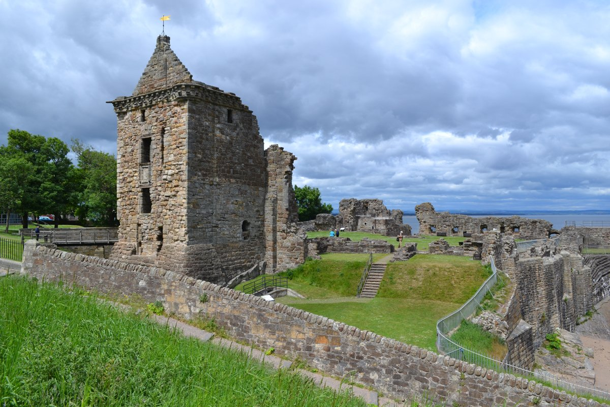 Ruine des St Andrews Castle