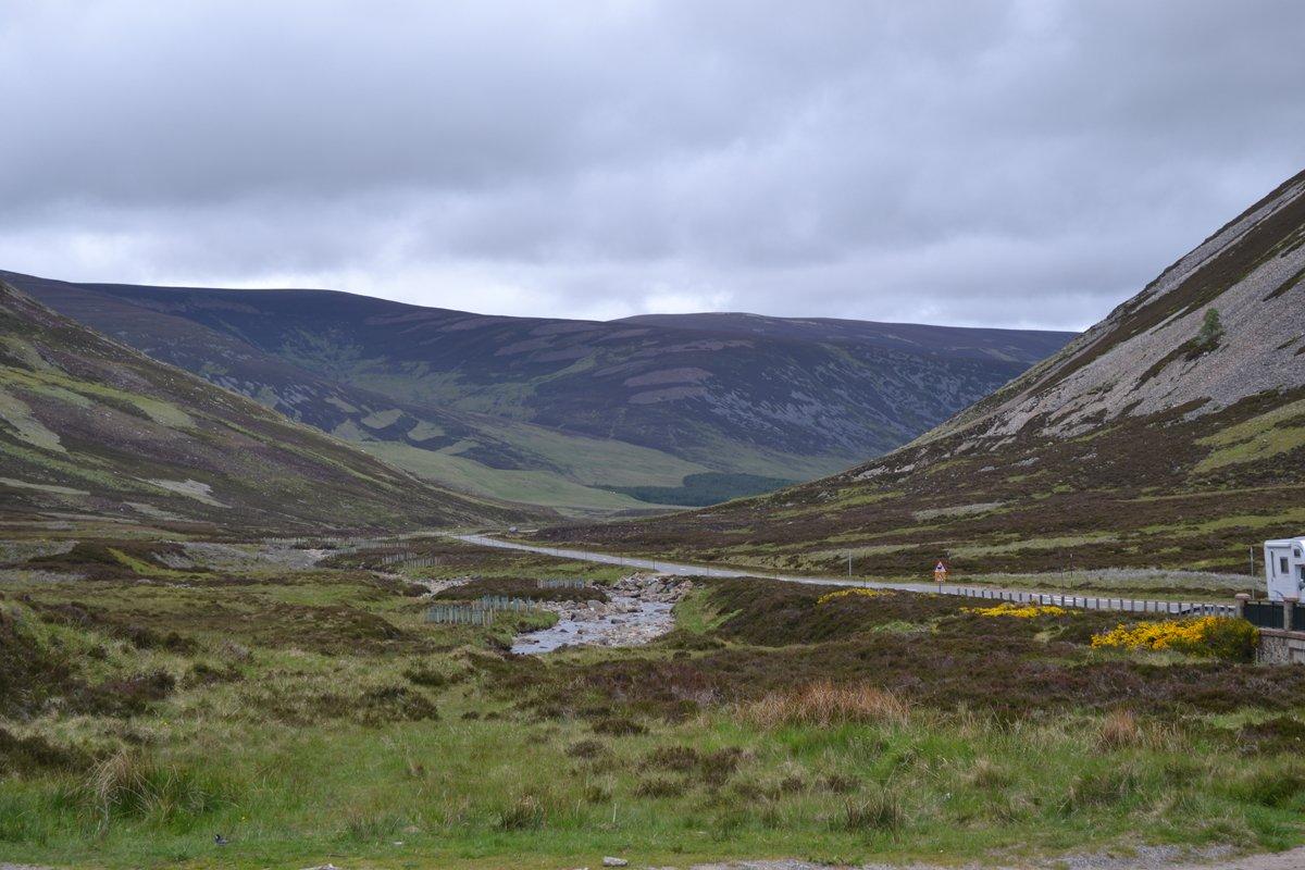 Die östlichen schottischen Highlands