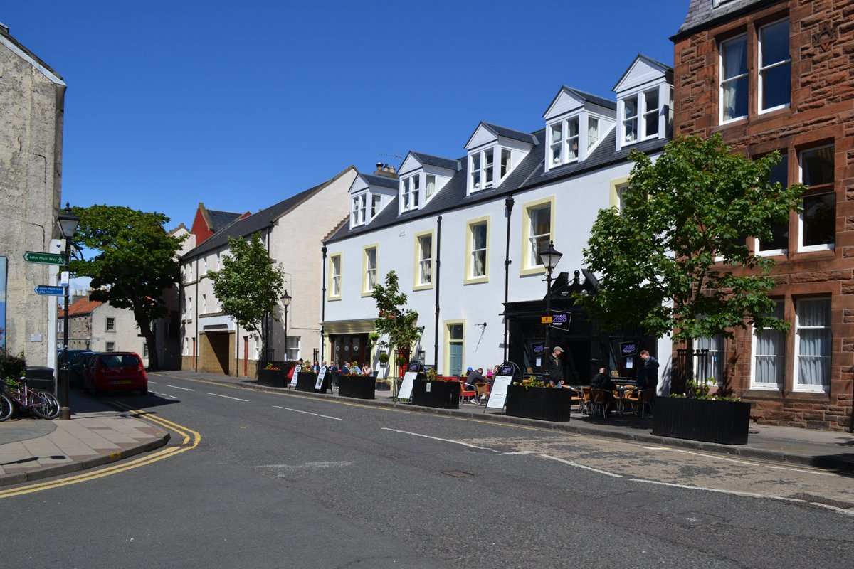 Strassenbild North Berwick