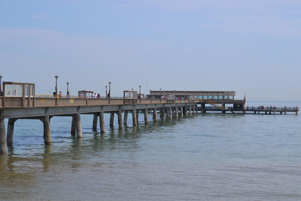 Die Pier in Deal