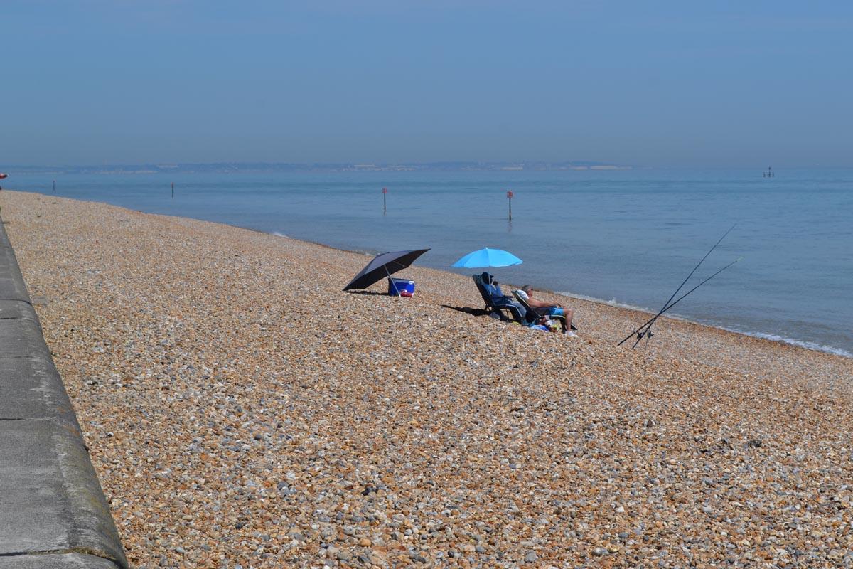 Strand in Deal - So entspannt ist Angeln