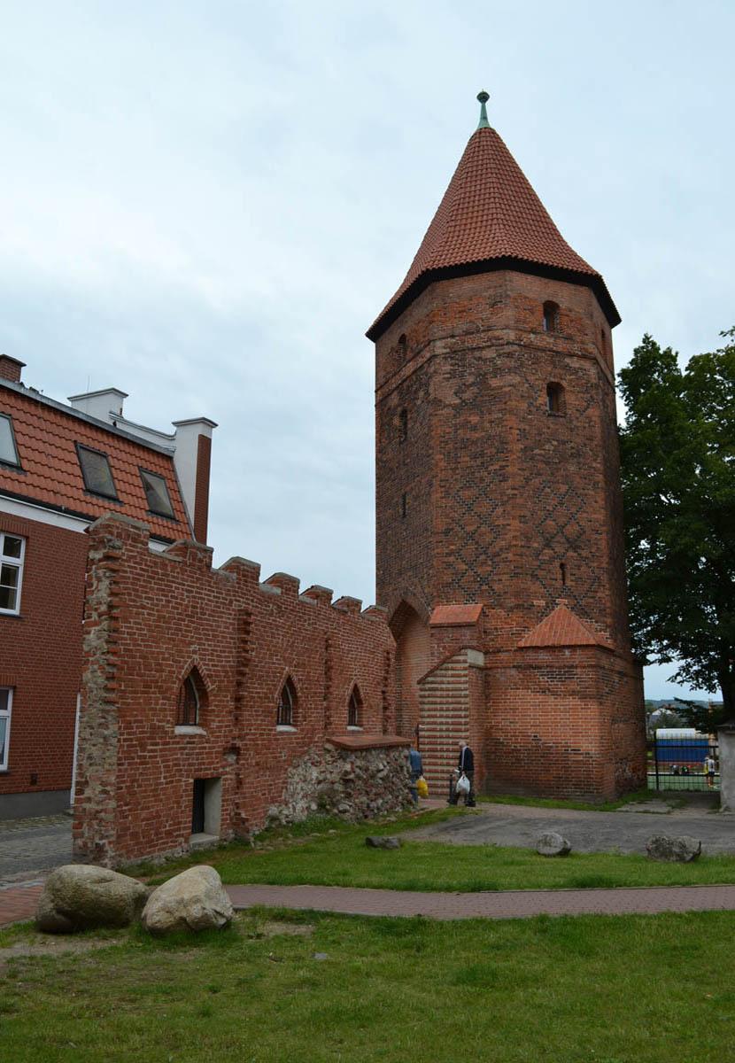 Wehrturm und Stadtmauerreste