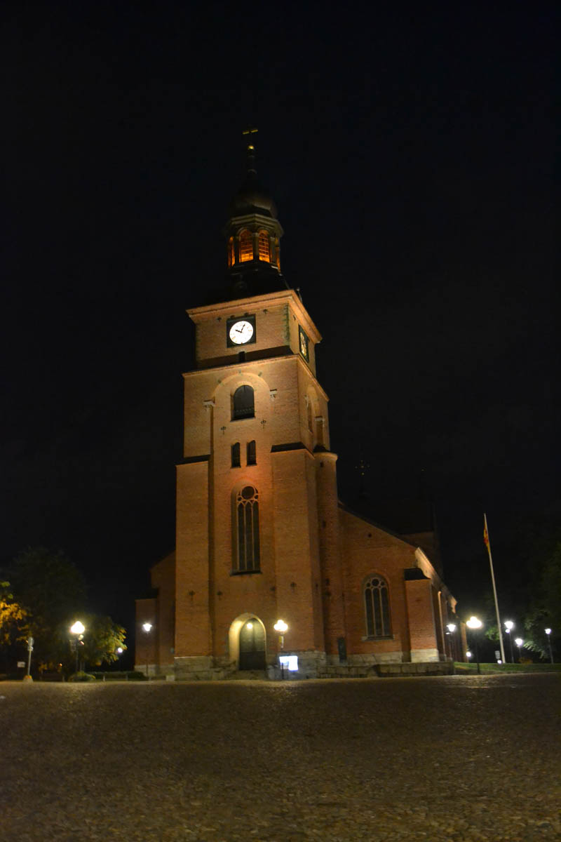 Kristinenkirche bei Nacht