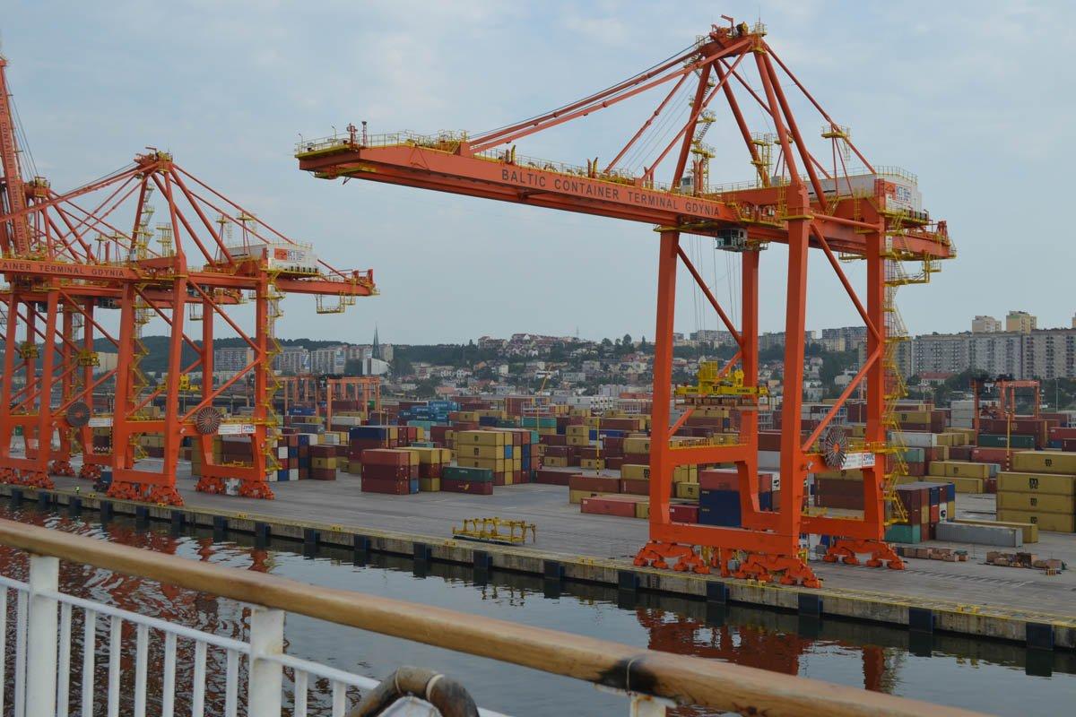 Containerhafen Gdingen