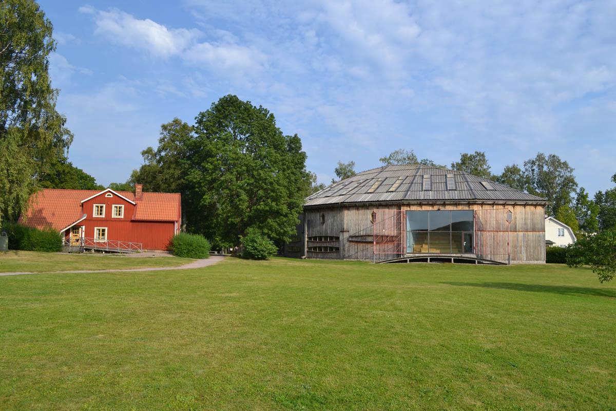 Das Besucherzentrum des Wikingermuseums