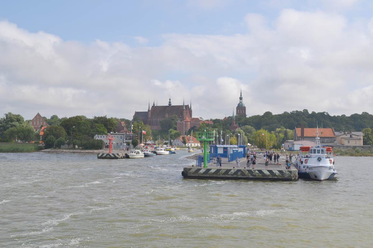 Frombork Hafen