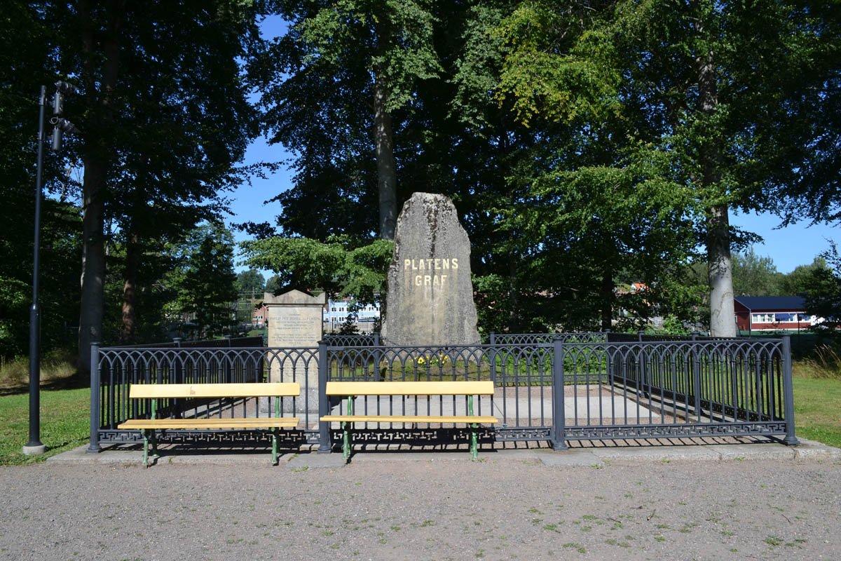 Grab von Freiherr Philip Platen