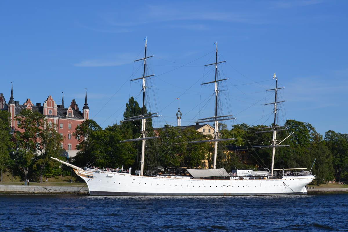 """Jugendherberge auf dem Segelschiff """"af Chapman"""""""