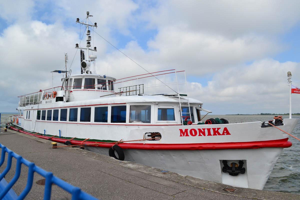 Monika, unser Schiff von Krynica