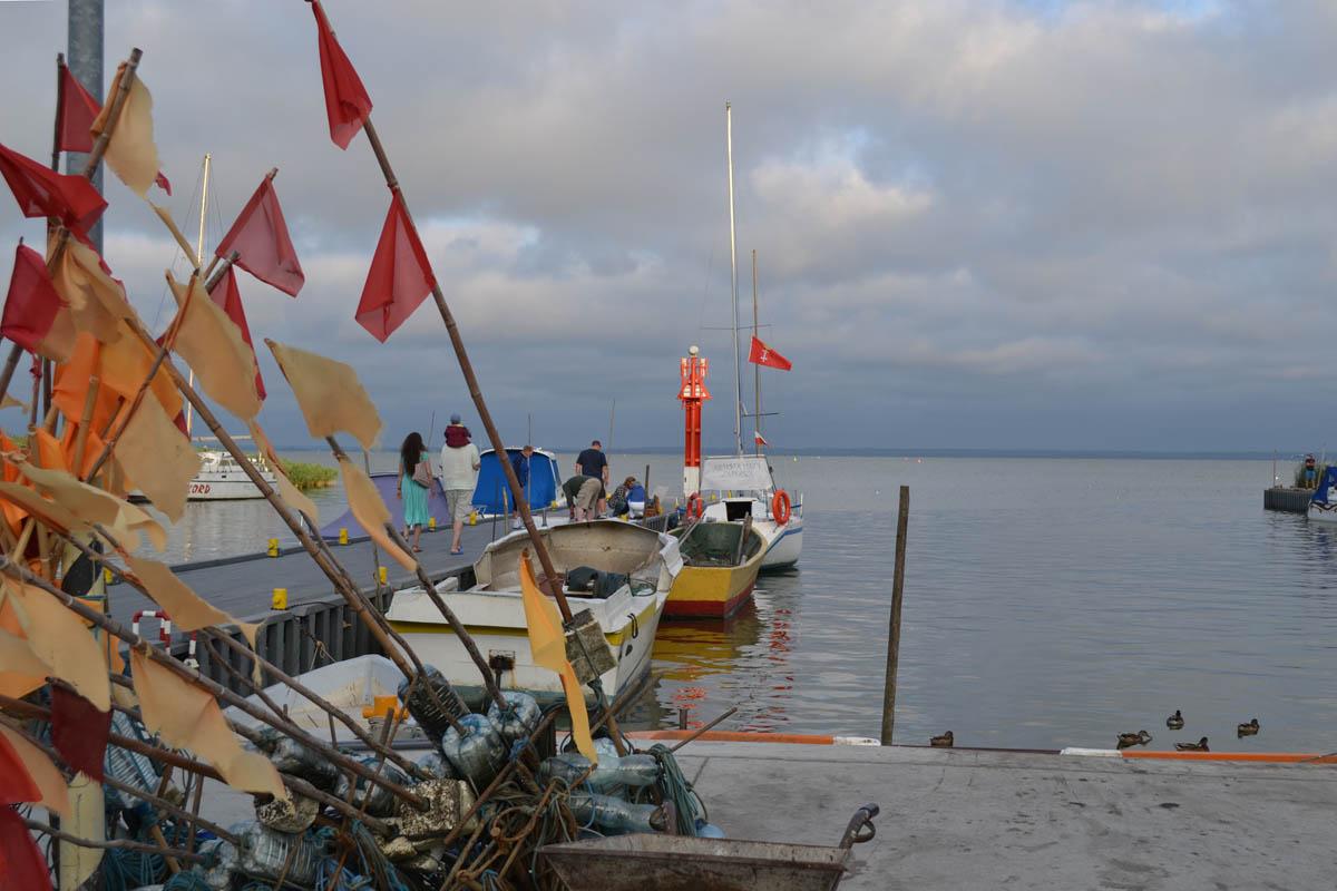 Piaski Hafen