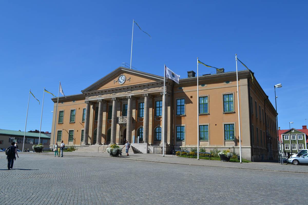Karlskrona Rathaus und Gerichtsgebäude