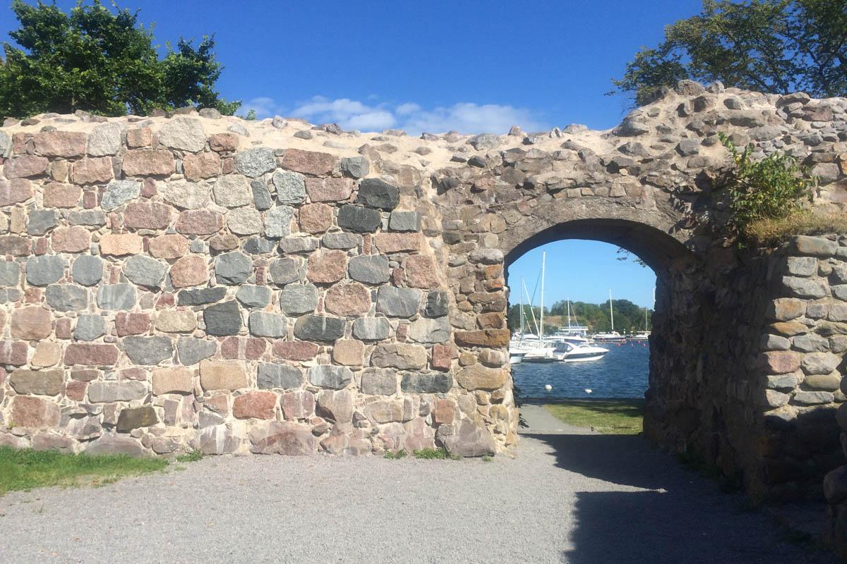 Schloss-Ruine