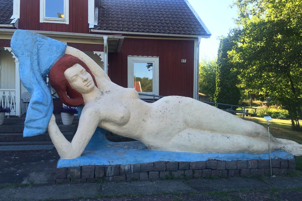 "Källström Skulptur ""Die Frau"""