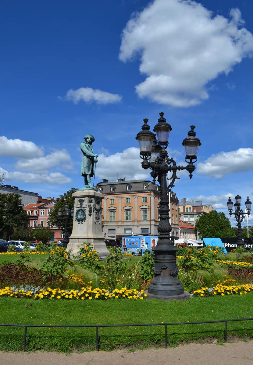 Statue König Karl XI