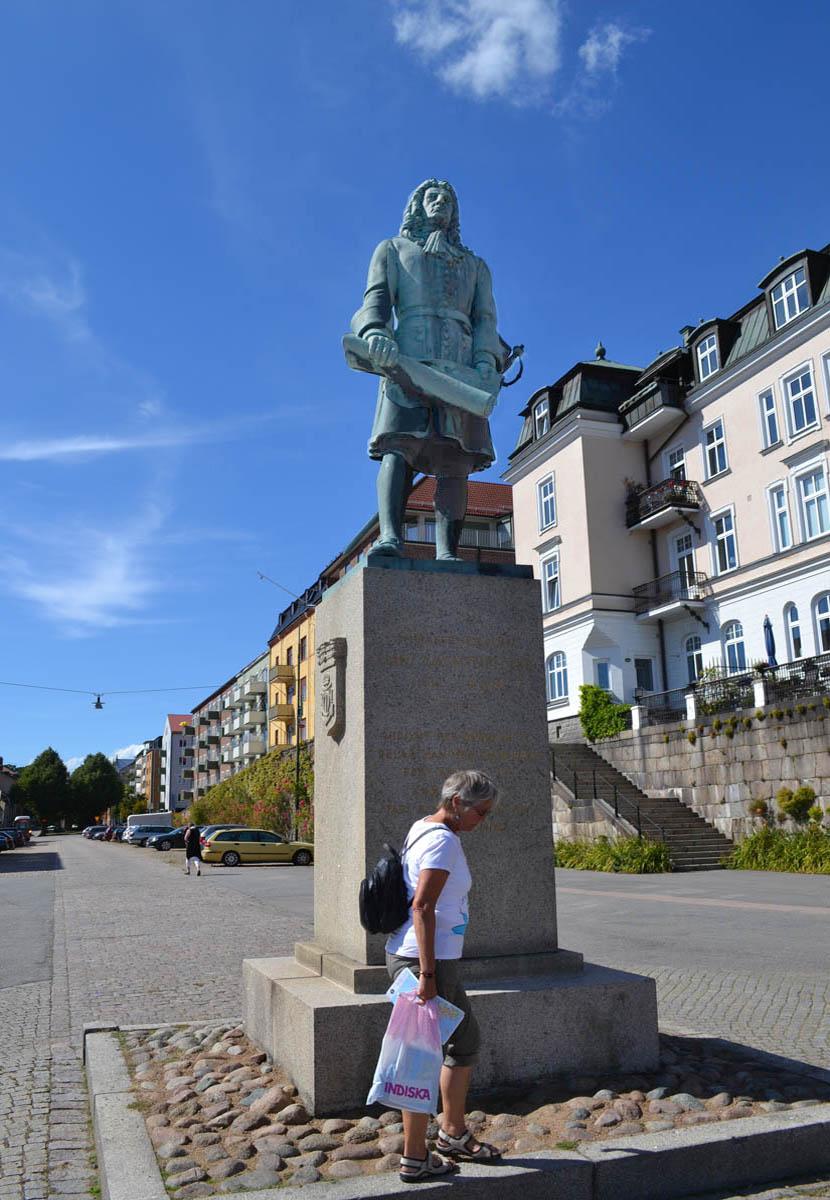 Statue von Admiral Hans Wachtmeister