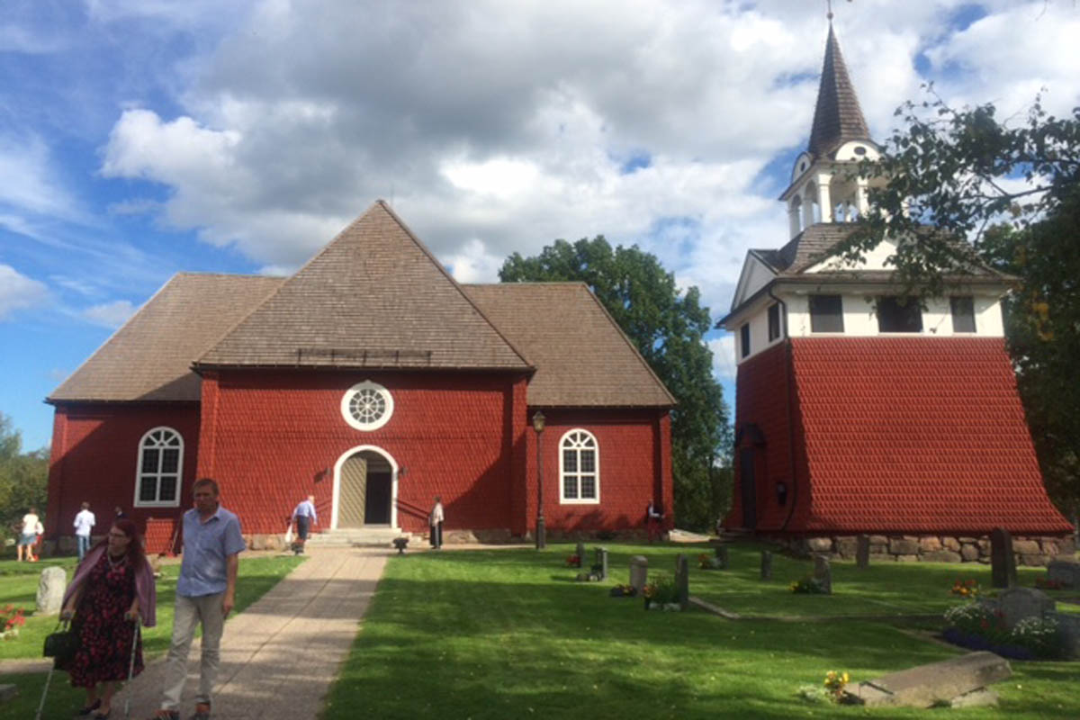 Sundborn Kirche