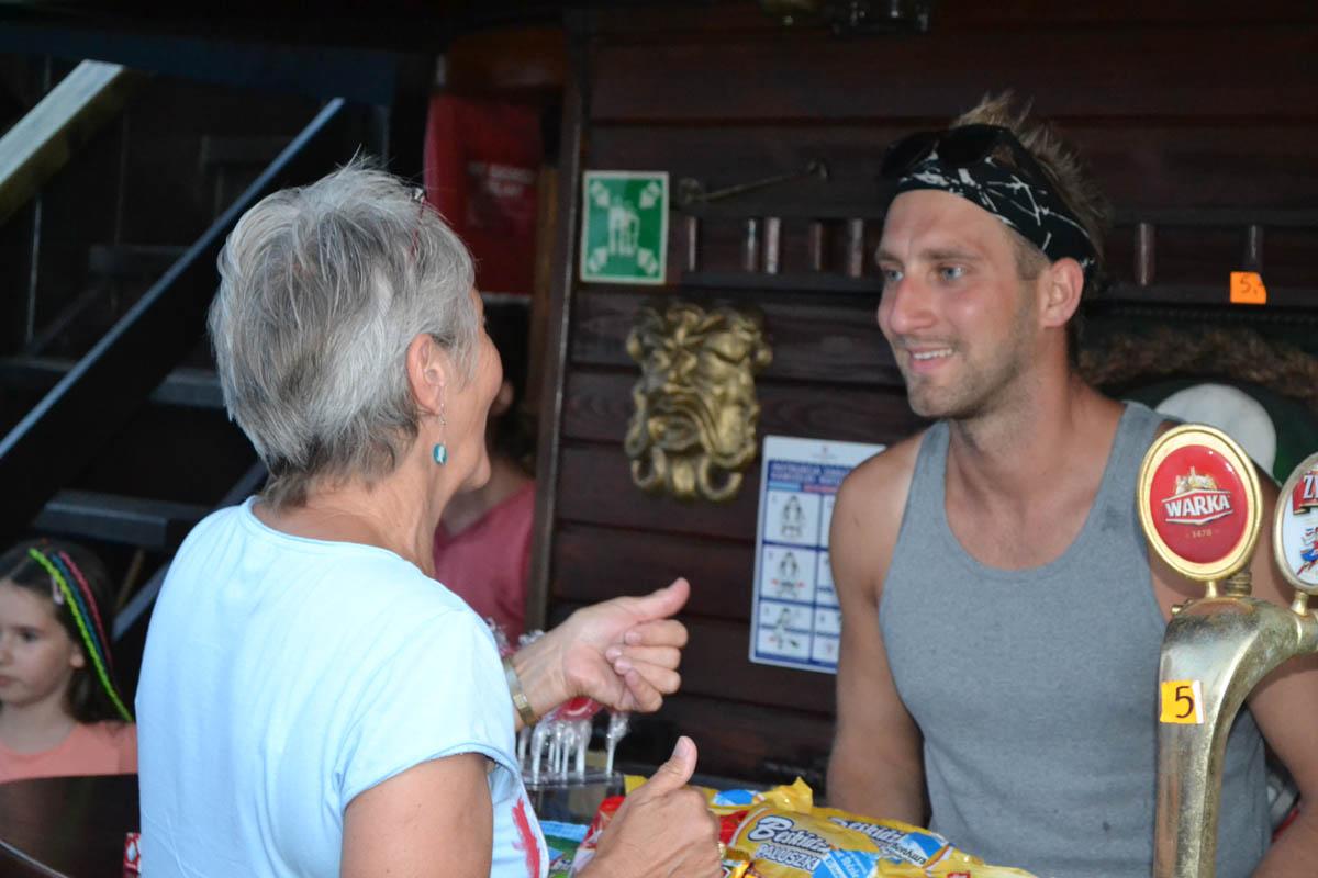 Unser Anmateur Jan Kowalski im Gespräch mit Anne