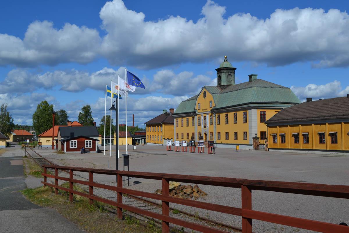 Verwaltungsgebäude der Falun-Grube