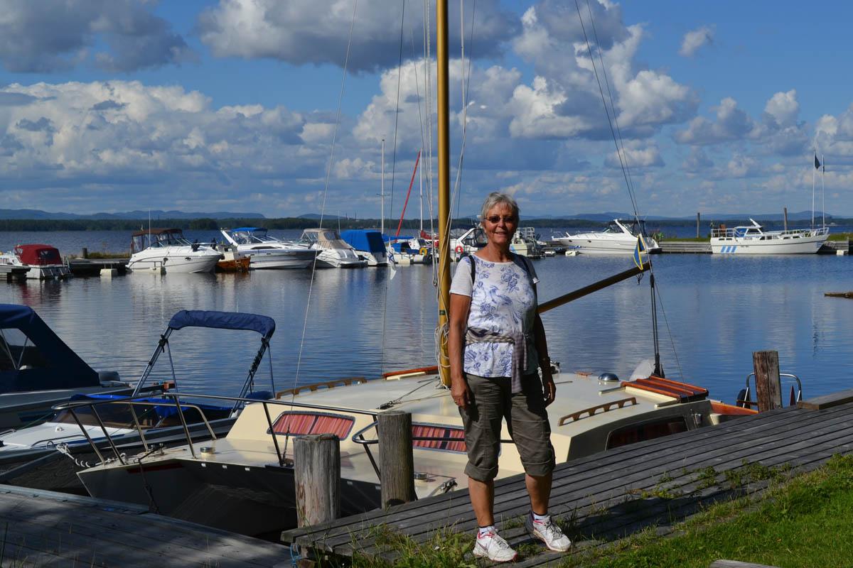 Der kleine Bootshafen von Nusnäs
