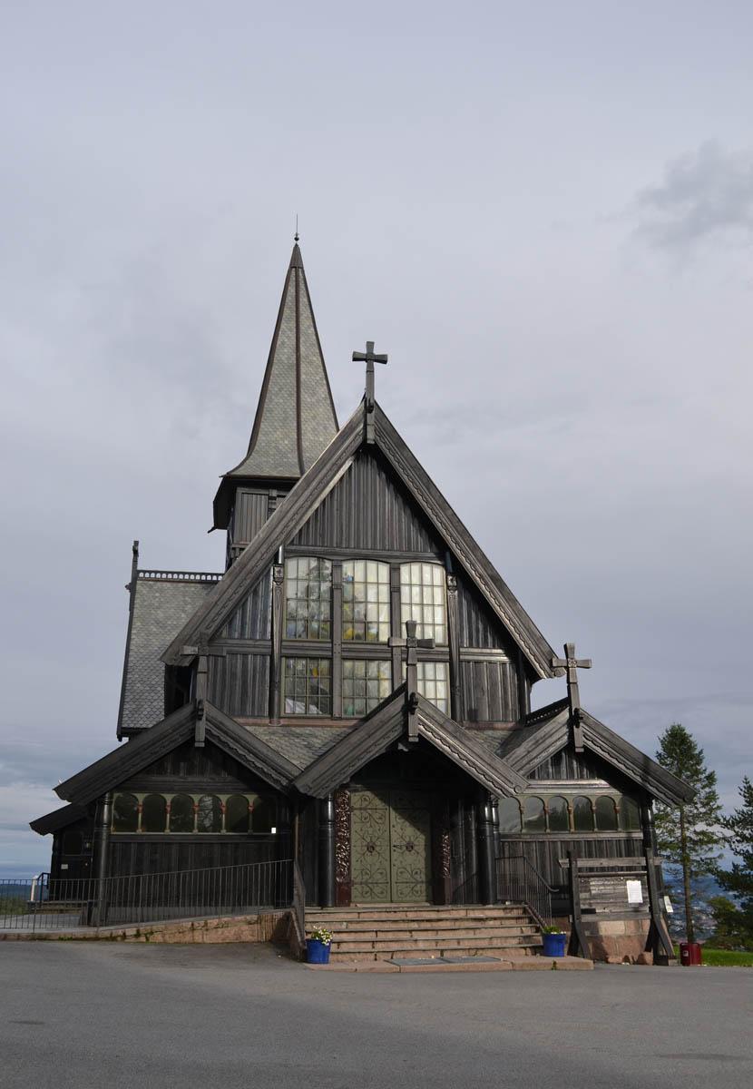 Holzkirche am Holmenkollen