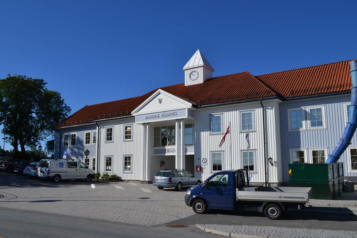 Langesund Rathaus