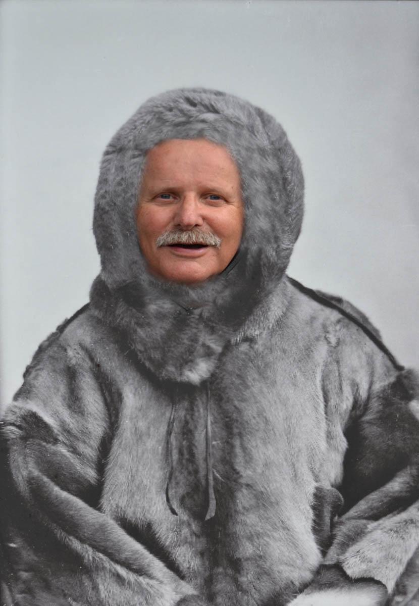 Polarforscher Frederick