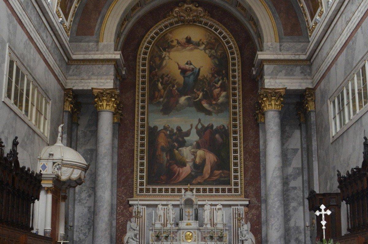 "Altargemälde ""Christi Himmelfahrt"""