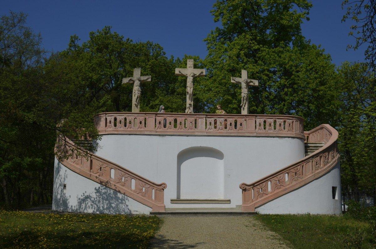 Barockes katholisches Mahnmal im Elisabeth-Park