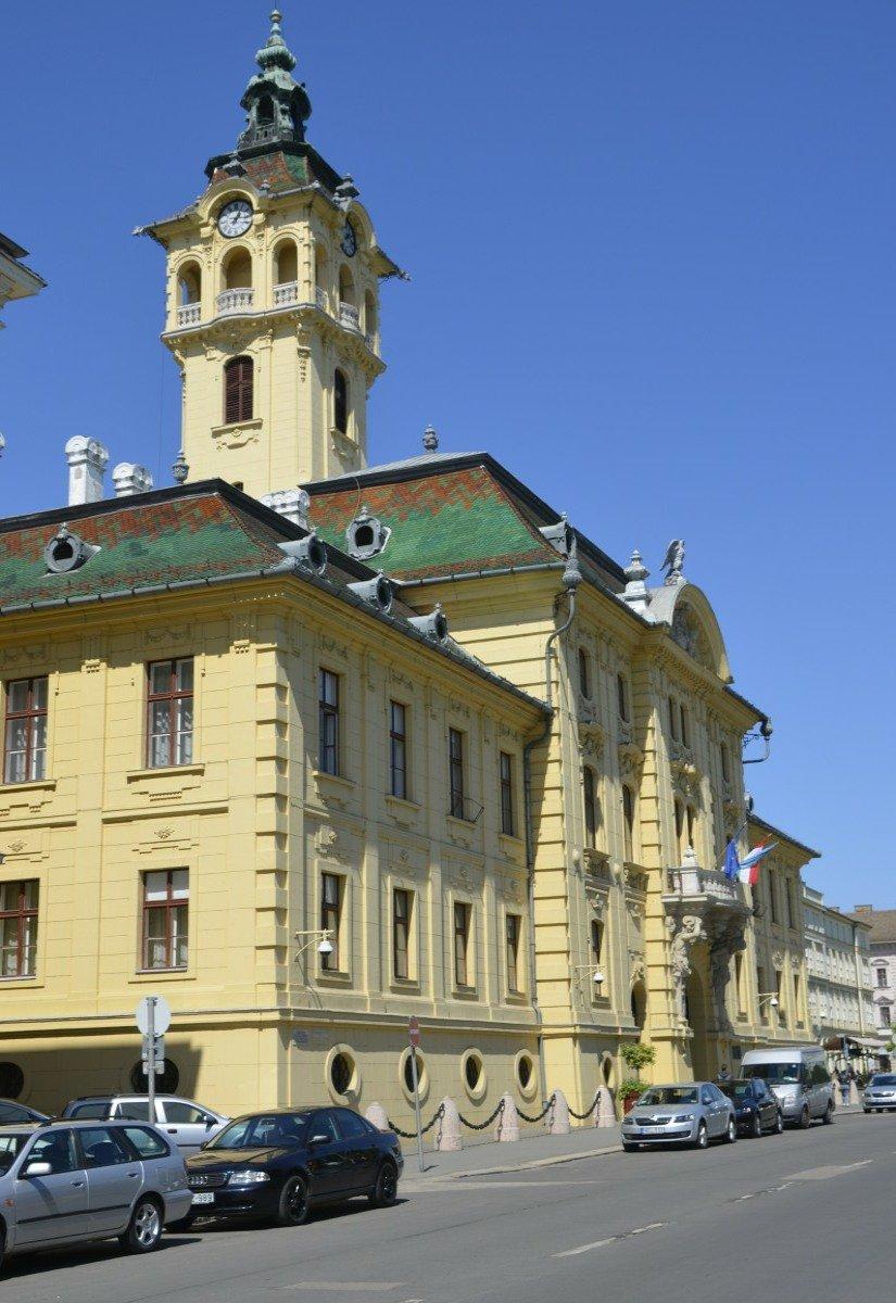 Das Rathaus von Szeged