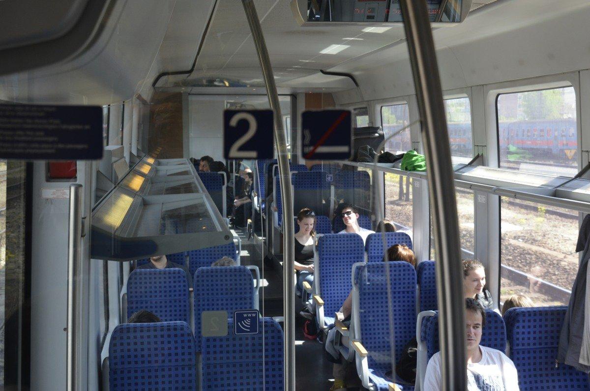 Der moderne Regionalzug