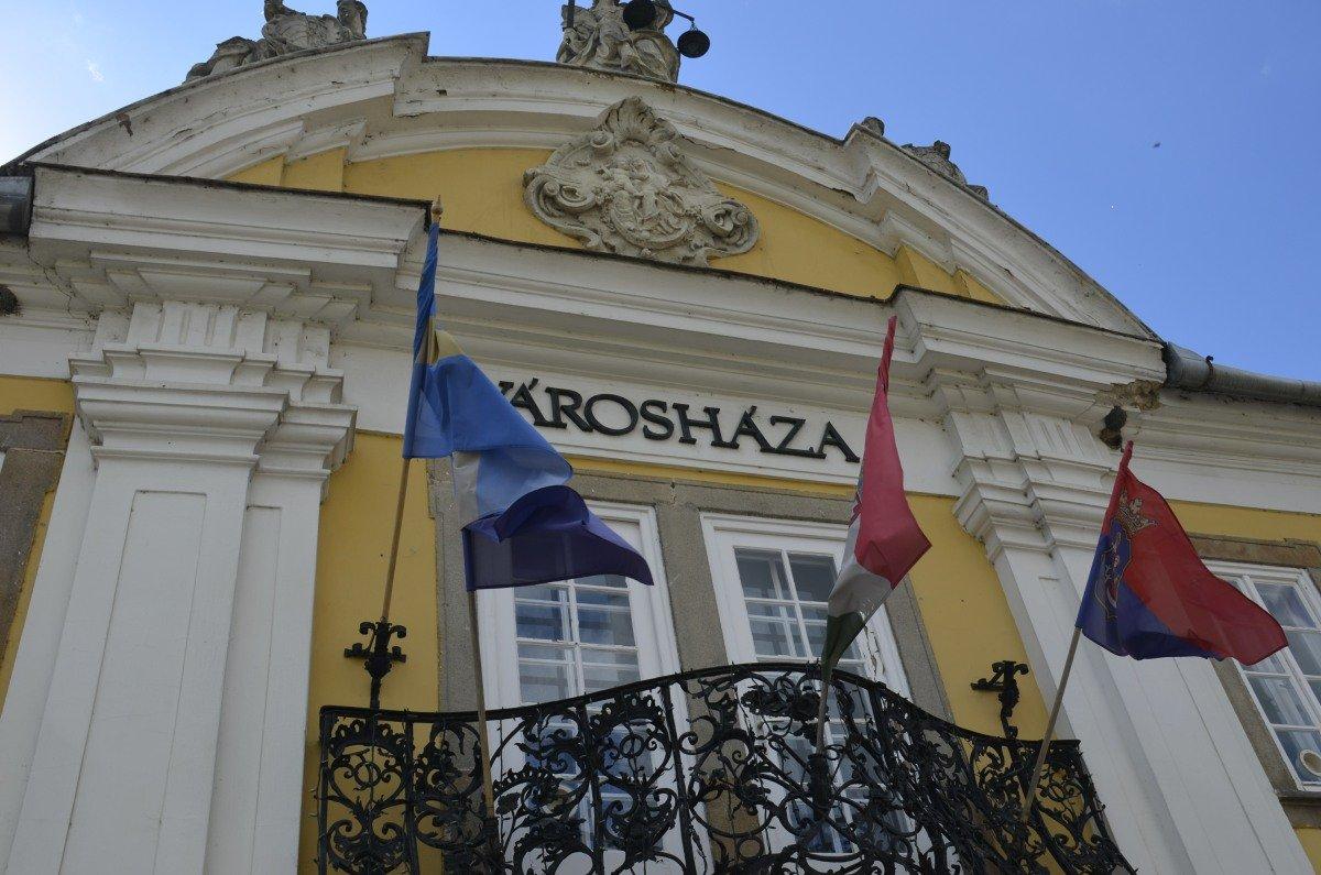 Rathaus von Vác
