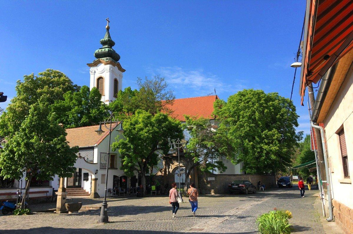 Serbische Kirche in Szentendre