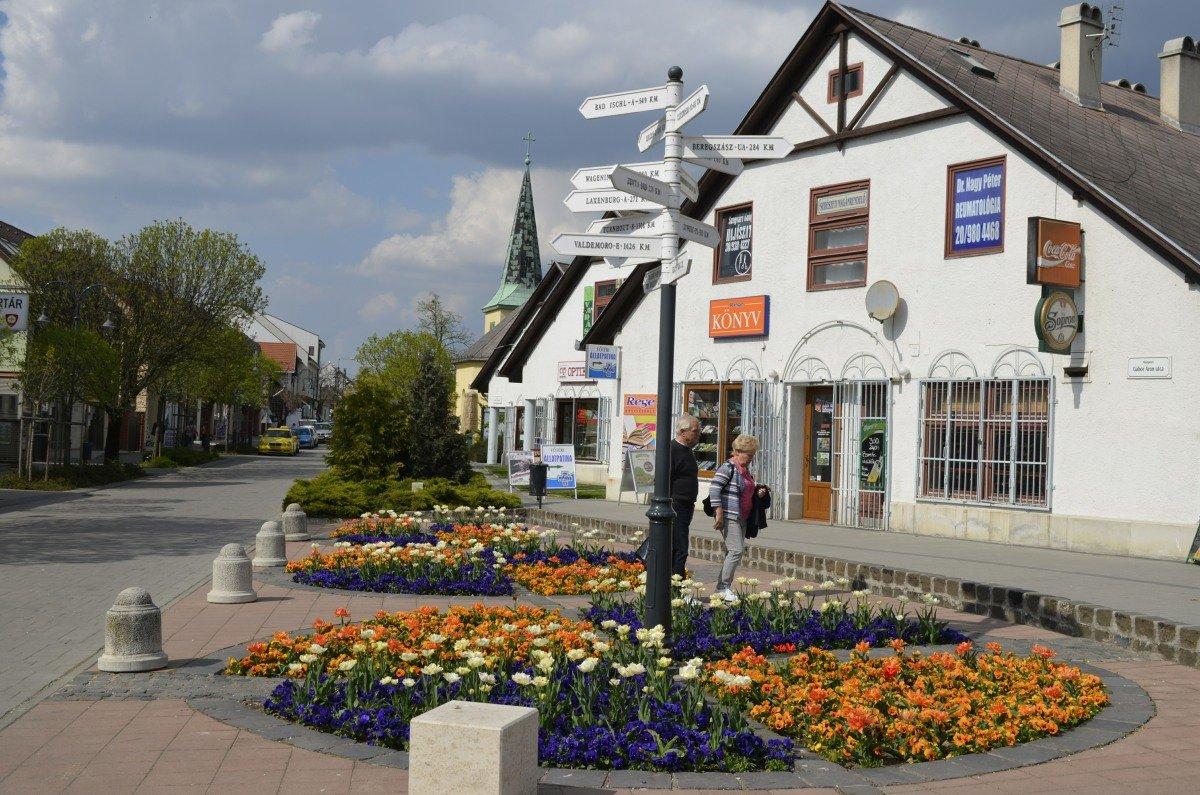 Stadtzentrum Gödöllö