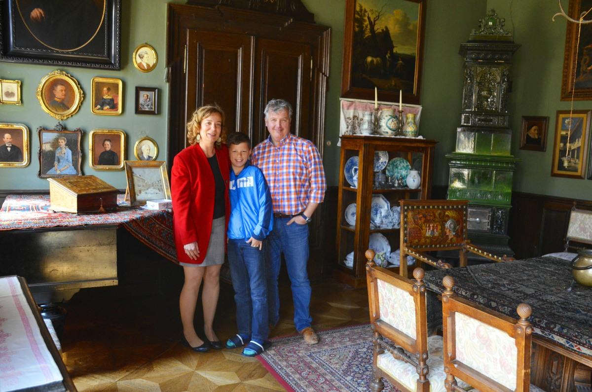 Agnes Langer mit Ehemann und Sohn Moritz2