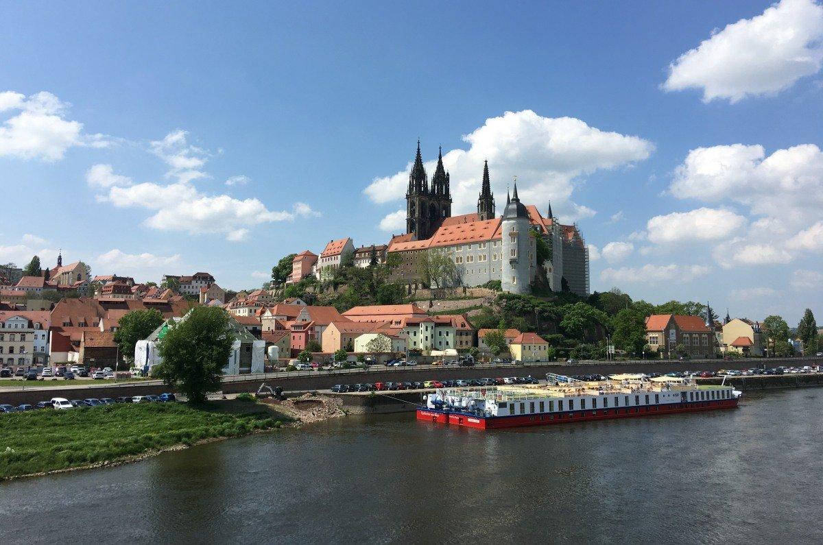 Albrechtsburg mit Dom in Meissen