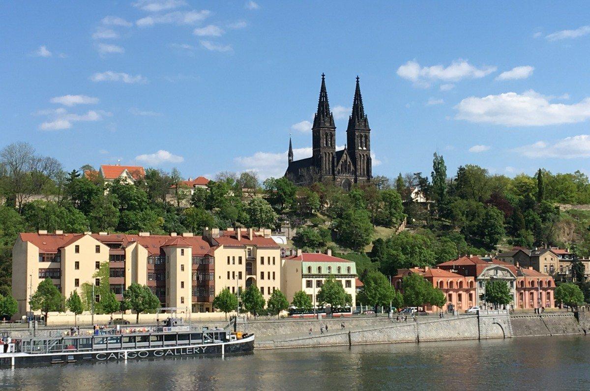 Burg Vyšehrad - keine Kirche
