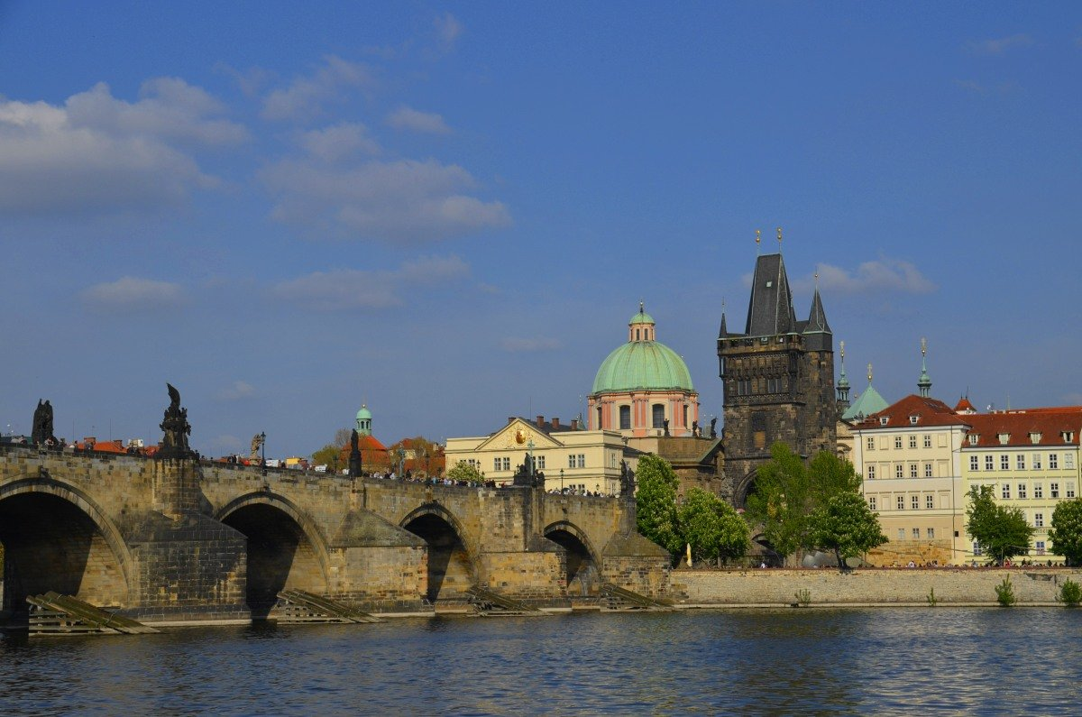 Die berühmte Karlsbrücke