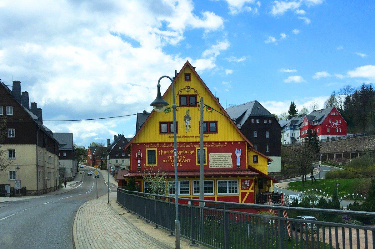 Durchfahrt durch Altenberg