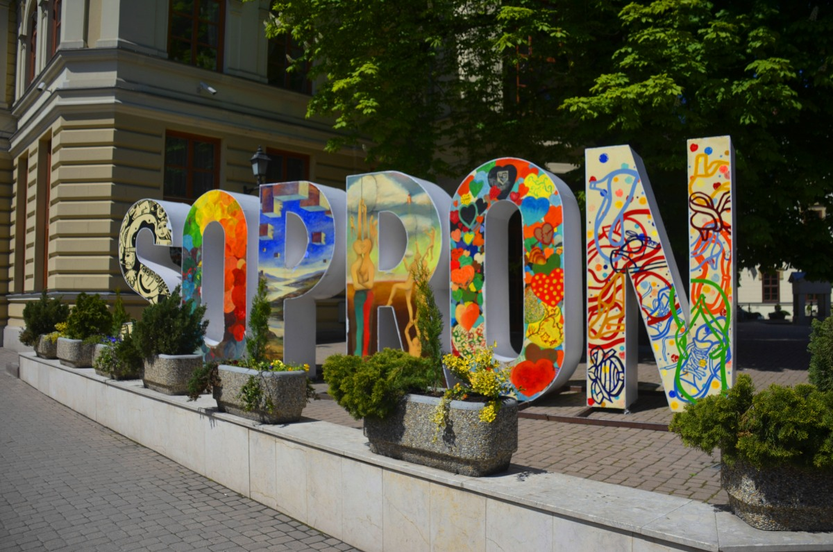 Farbenfrohes Sopron