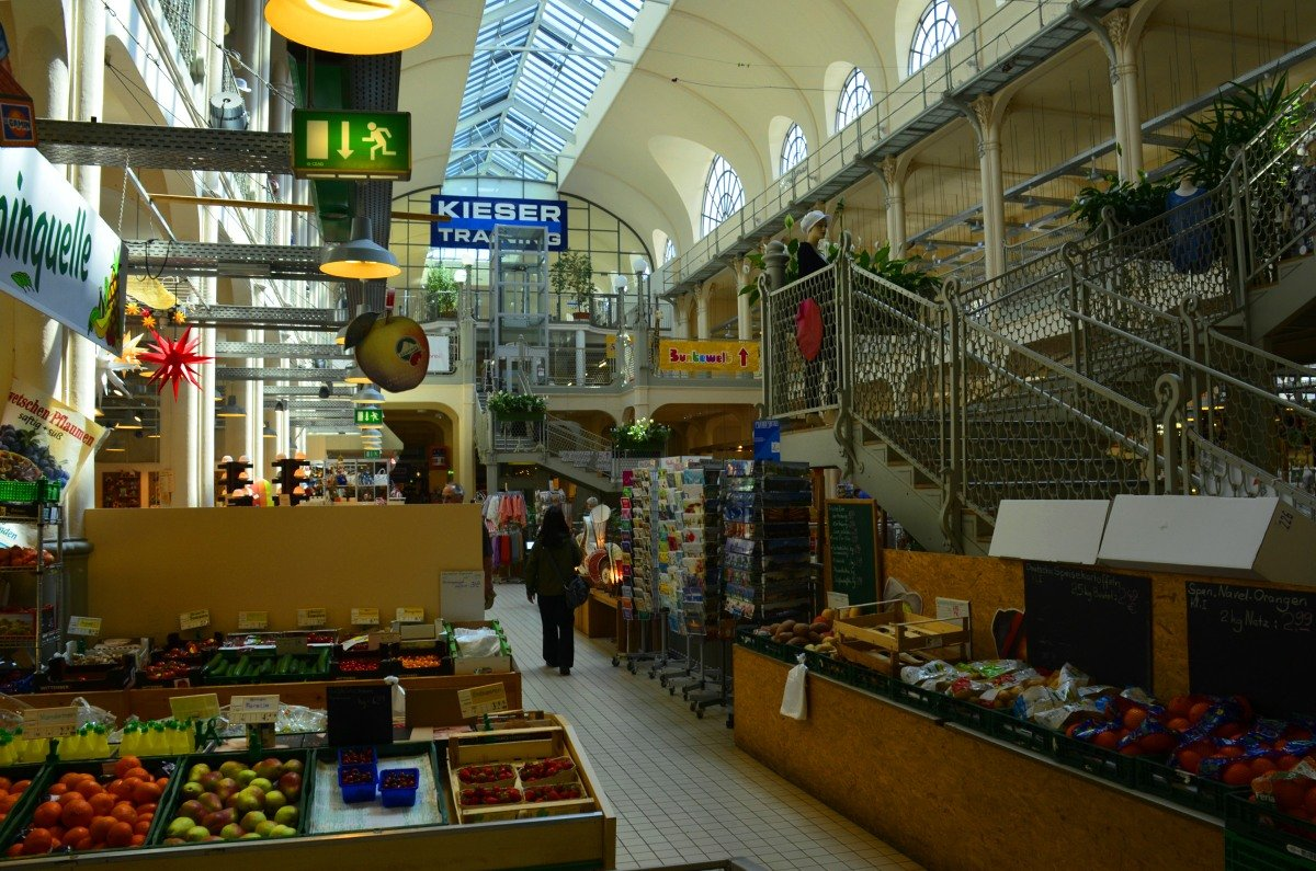 Markthalle in der Neustadt