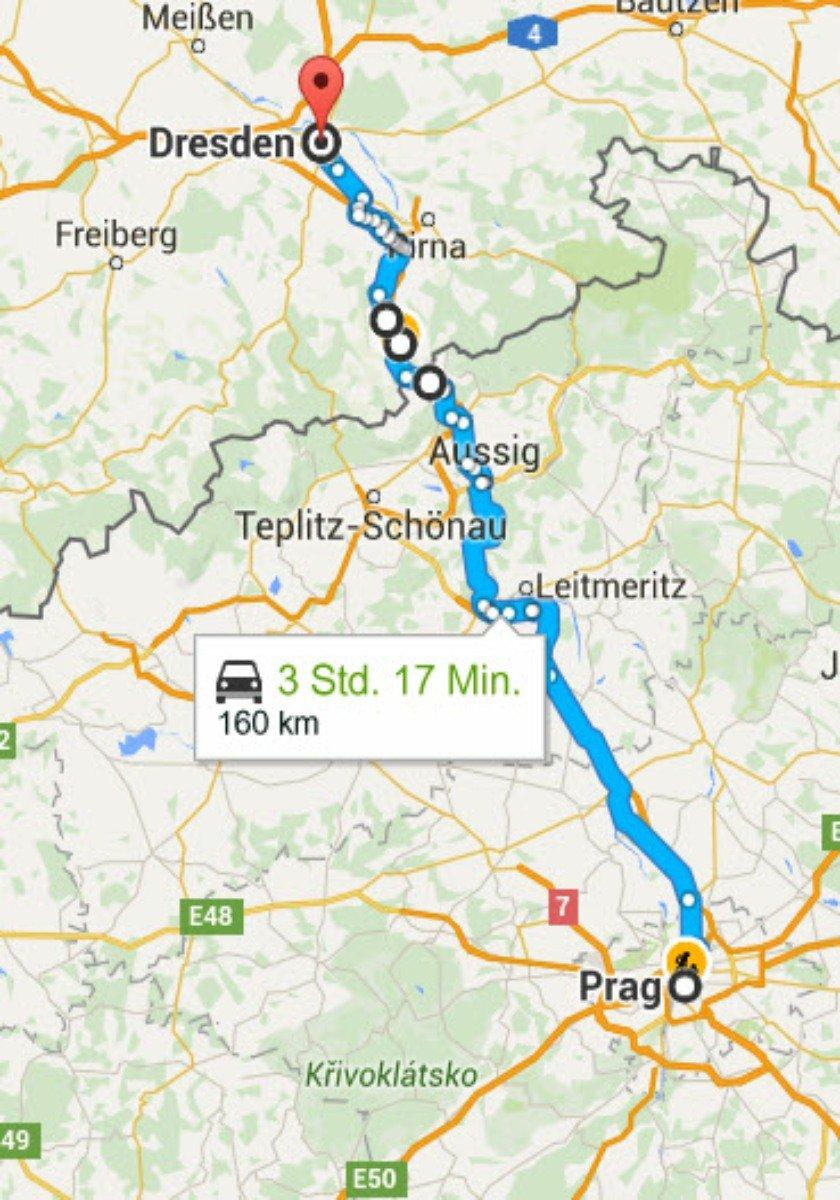 Prag - Dresden