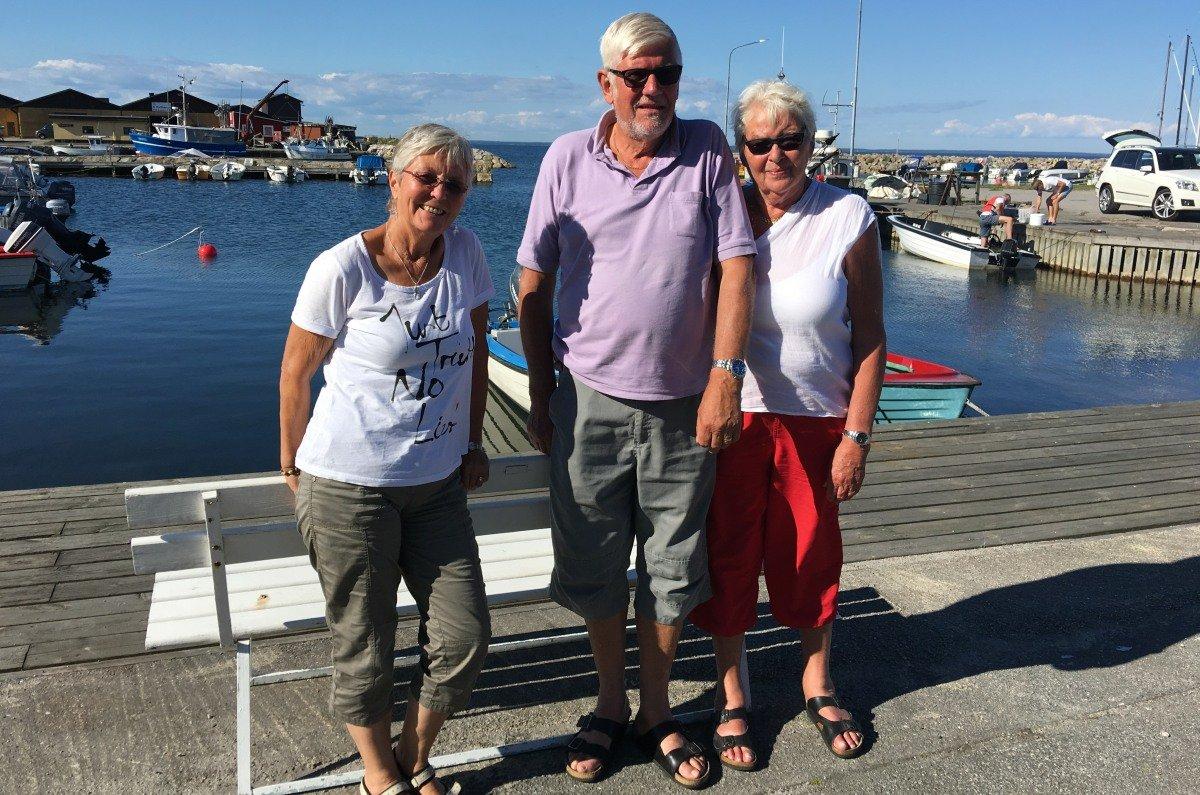 Anne, Ingemar und Barbro