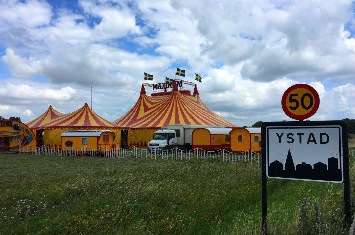 Cirkus Maximus direkt neben dem Stellplatz