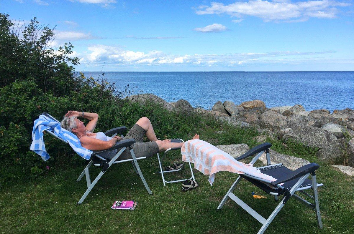 Entspannung in Krokås