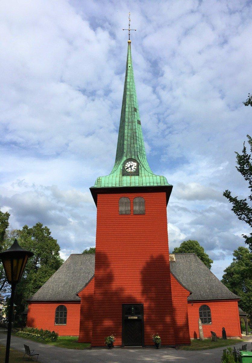 Karlskoga Holzkirche