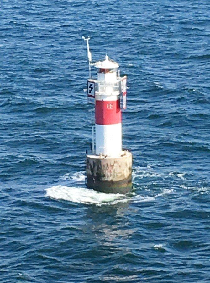 Seezeichen im Öresund