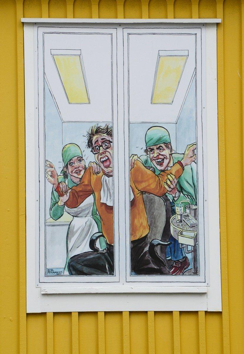 Zahnarztfenster
